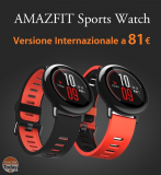 Rabattcode - Xiaomi AmazFit International bei 81 €