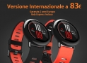 Offer - Xiaomi AmazFit International Red at ONLY 83 € 2 years warranty Europe and shipping Italy Express INCLUDED!