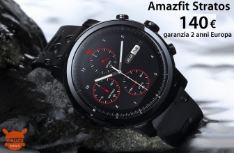 Discount Code - Xiaomi Stratos Amazfit Sport Smartwatch 2 to 140 € 2 guarantee years Europe