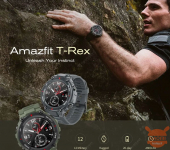 Amazfit T Rex the rugged smartwatch by Huami on offer for only 97 €