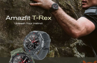 Discount Code - Amazfit T-Rex Huami's rugged smartwatch for 92 €!