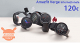 할인 코드 - Xiaomi Amazfit International Verge at 120 €