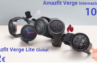 Code de réduction - Xiaomi Amazfit Global Verge à 109 € et la version Lite à 82 €