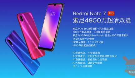 Xiaomi Redmi Note 7 Pro Official: Here are all the specifications and prices!
