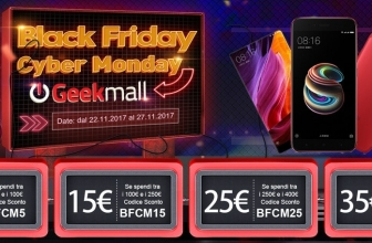 On GeekMall.it comes BlackFriday with Guarantee Italy