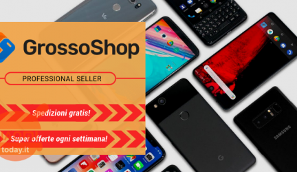 Offer - Weekly offers from GrossoShop.net with 2 years of Italy warranty and shipping from IT / CN warehouse