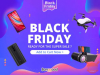 Black Friday has already landed on Banggood with discounts of up to 80%!
