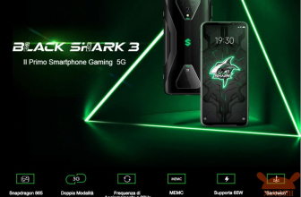 할인 코드-Xiaomi Black Shark 3 Global 8 / 128Gb에서 415 € 및 12 / 256Gb에서 506 €