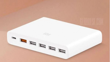 Discount Code - Xiaomi Multi Port USB Charger 60w Charger QC 3.0 to 33 €