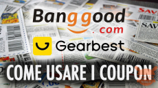 Guide - How to insert coupons on Gearbest and Banggood sites