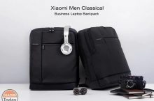 Offer - Xiaomi Men Classical Business 17L Laptop Backpack at 27 €