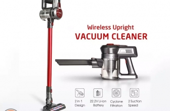 Discount Code - Dibea Vacuum Cleaner C17 2-in-1 to 66 € 2 guarantee years Europe
