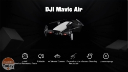 Code de réduction - DJI Mavic Air RC Drone Blanc à 695 € Expédition prioritaire incluse
