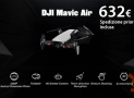 Discount Code - DJI Mavic Air RC Drone to 632 € priority shipping INCLUDED!