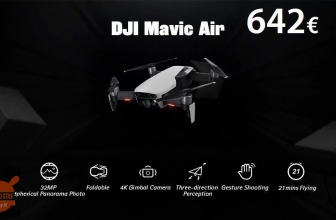 Discount Code - DJI Mavic Air RC Drone White at 642 € Priority shipping included