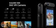 Discount Code - Insta360 ONE Camera Overview 4K for iPhone and iPad to 170 € Shipping and Customs Included