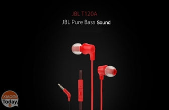 Offer - JBL T120A In-ear headphones with 8 microphone €