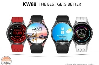Code de réduction - KingWear KW88 Smartwatch Phone to 74 € Livraison Italy Express Included