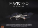 Discount Code - DJI Mavic Pro Platinum Quadcopter Standard Version RTF to 833 € 2 Warranty Years Europe