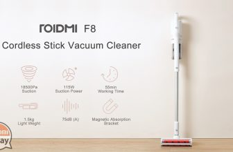 Xiaomi Roidmi F8 cyclonic vacuum cleaner at 205 € shipping included from EU