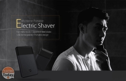 Offer - Xiaomi Mi Home 31 Rechargeable Electric Razor € 2 years warranty Europe and shipping Italy Express 2.8 €