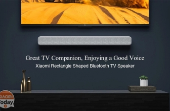 Discount Code - Xiaomi 33 ″ TV Soundbar at 82 €
