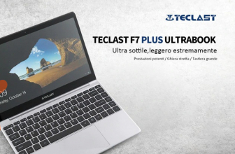 Rabattcode - Teclast F7 Plus-Laptop 8 / 128Gb-SSD zu 302 €