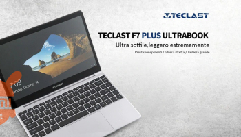 "Code de réduction - Teclast F7 Plus 8 / 256Gb SSD display 14 ""laptop à 265 € et Teclast F6 Plus à 283 €"