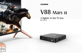 Oferta - SCISHION V88 Mars II UE Plug Smart TV Box 2 / 8 Gb para 24 € de Stock EU