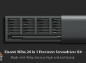 Discount Code - Xiaomi Wiha Precision Screwdriver 24 in 1 to 29 € Warranty 2 Years Europe
