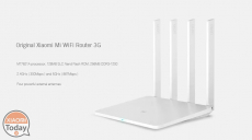 Offer - Xiaomi WiFi Router 3G gigabit usb 3.0 to 38 € Warranty 2 Years Europe and priority shipping 1 €