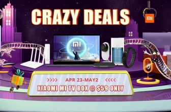 """Crazy Deals Xiaomi"" -händelse från Gearbest"