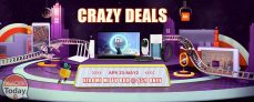 """Crazy Deals Xiaomi"" event from Gearbest"