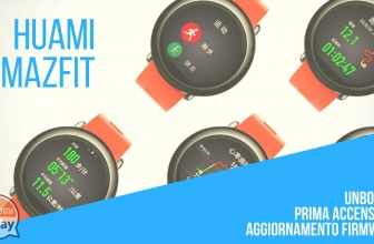 UNBOXING - Huami Amazfit: First Firmware Upgrade and Upgrade