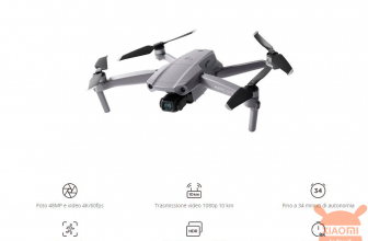 Discount Code - DJI Mavic Air 2 RC Drone 751 € and fly more combo for 977 €