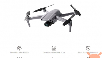 DJI Mavic Air 2 10KM 1080P FPV4K 60fps Camera RC Drone à 657 € et la version Fly More Combo à 854 €