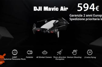 Offer - DJI Mavic Air RC Drone White at 594 € 2 Warranty Years Europe