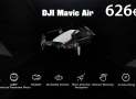 Discount Code - DJI Mavic Air RC Drone White at 626 € Priority shipping included
