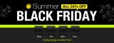 Summer All 50% off Black Friday  from TinyDeal