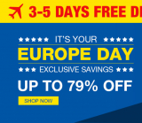 European Day Up TO 79% off from TinyDeal