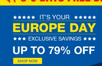 European Day UP TO 79% off från TinyDeal
