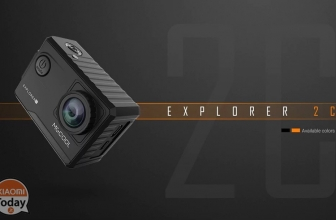 [Offer] MGCOOL Explorer 2C Action Camera 4K Black at 73 € shipping and shipping included