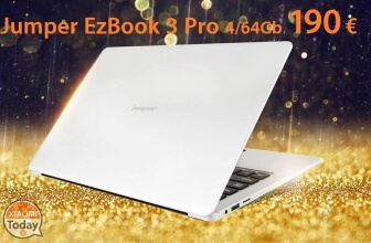 Discount Code - Jumper EZBOOK 3 PRO Notebook 6 / 64 Gb Silver with 190 € Shipping and Shipping Included