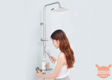 Xiaomi Diiib Thermostatic Shower: New smart shower presented in China