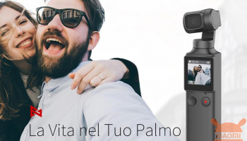 Xiaomi Fimi Palm 4K 100Mps camera stabilizer at 131 € with shipping from Europe warehouse