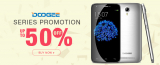 Doogee Series Promotion up to 50% off from TinyDeal