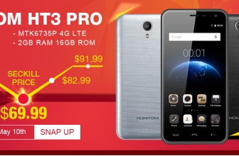 Homton HT3 Pro for $ 69.99 from TinyDeal