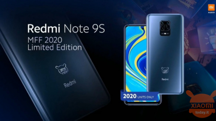 Redmi Note 9S MFF 2020 Edition announced in limited edition