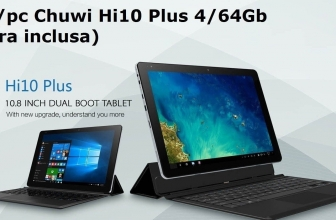 Offer - CHUWI Hi10 Plus 4 / 64Gb to 170 € with original keyboard included!