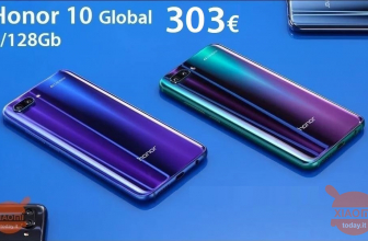 Offerta – Huawei Honor 10 Global (banda 20) 4/128Gb a 303€ e Honor 10 Lite Global 3/64Gb a 206€